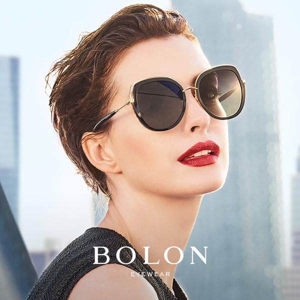 【BOLON 暴龍】蝶形大框時尚流行太陽眼鏡 明星代言款 BL6038