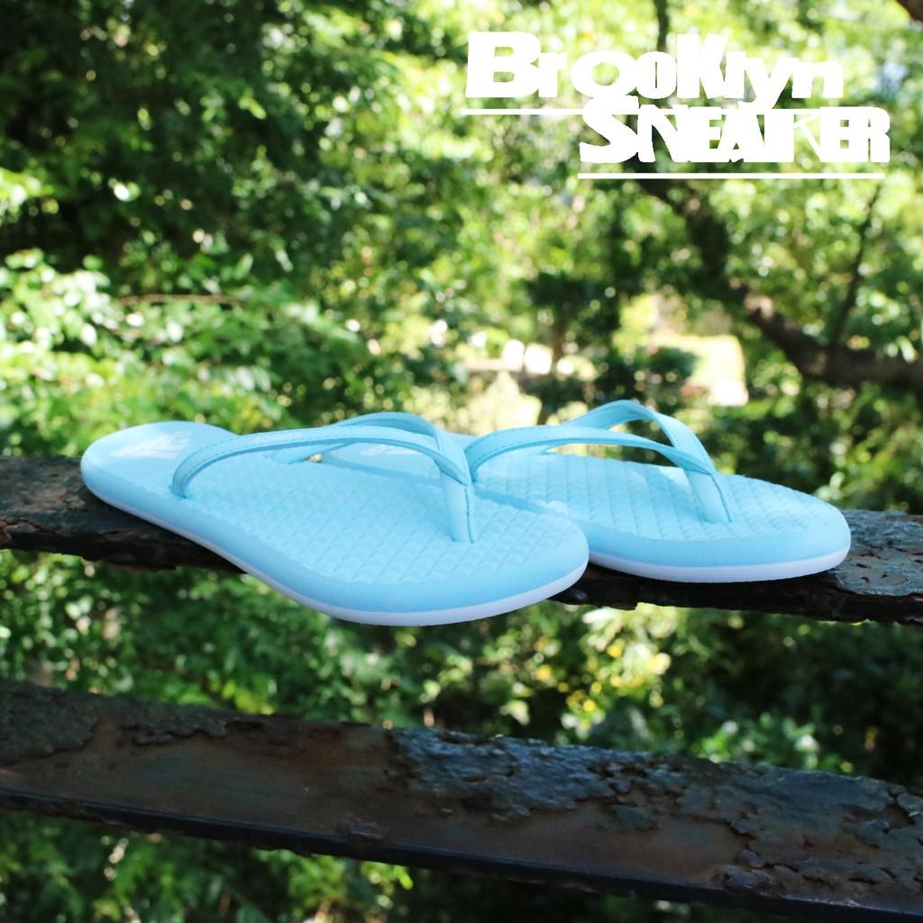 adidas EEZAY FLIP FLOP 夾腳拖 人字拖 粉藍色 女鞋 CG3362 no580