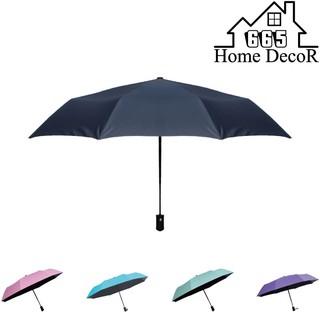 《665家居》自動摺疊黑膠傘 內層黑膠 擋紫外線 晴雨傘 包包小物 遮陽一把罩 輕量化【U08】 台中市