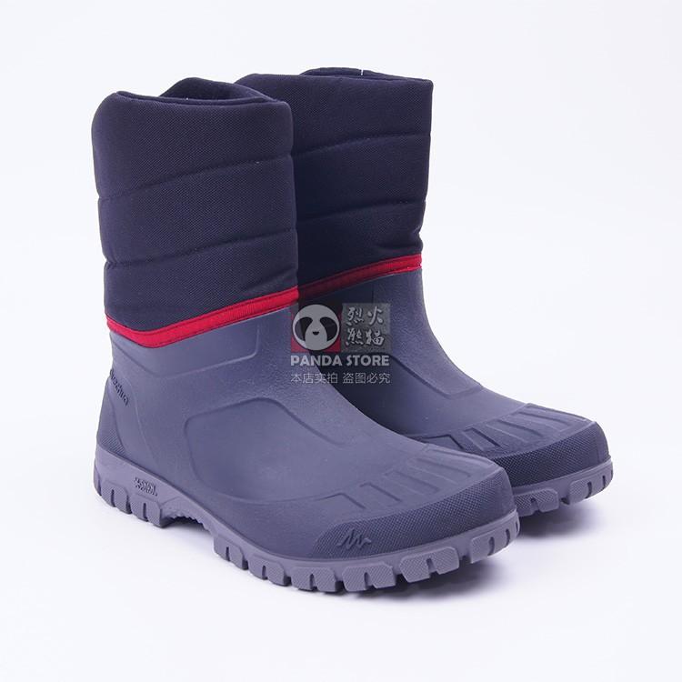 妮娜_迪卡儂 QUECHUA SH100男士戶外運動保暖防水登山鞋雪地靴雪地鞋