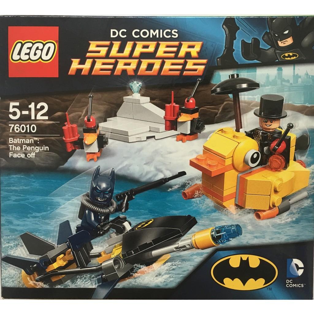 ┃1997玩起來┃樂高LEGO 76010 Batman: The Penguin Face off (輕微盒損)