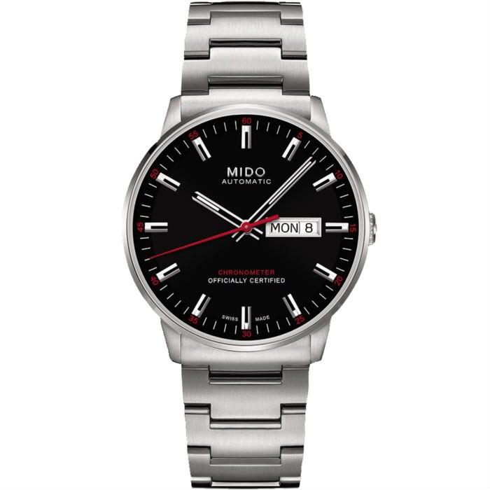 Mido 美度錶 M0214311105100 Commander天文台認證優雅腕錶/黑 40mm