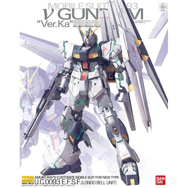 鋼彈倉庫 - BANDAI MG 1/100 RX-93 ν Nu鋼彈 Ver. Ka