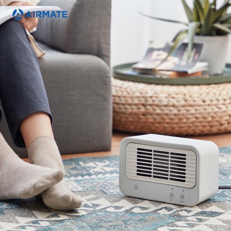 【絕對暖心發貨、露營好暖心 在家好溫馨 】AIRMATE艾美特 人體感知 美型陶瓷式 電暖器HP060