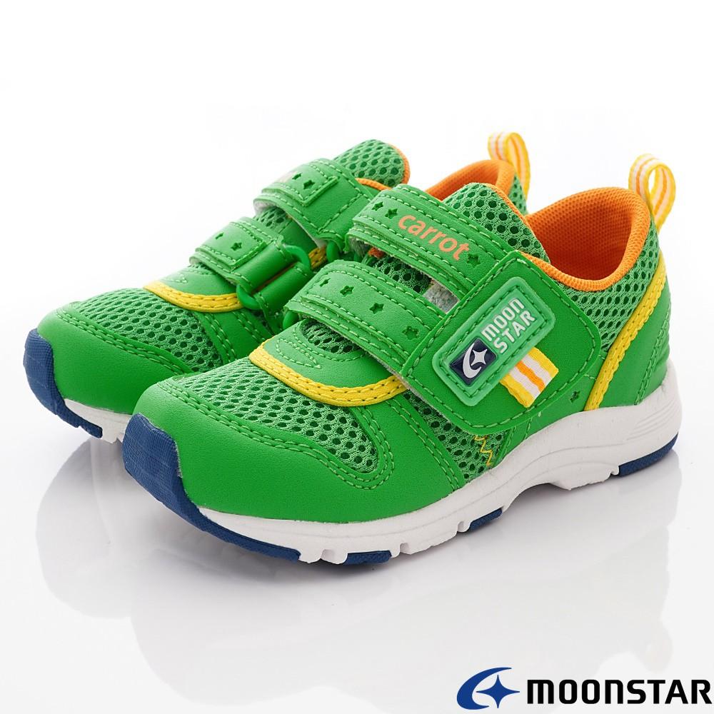 日本月星Moonstar機能童鞋 速乾寬楦預防矯正新款2175系列-中小童段2款任選