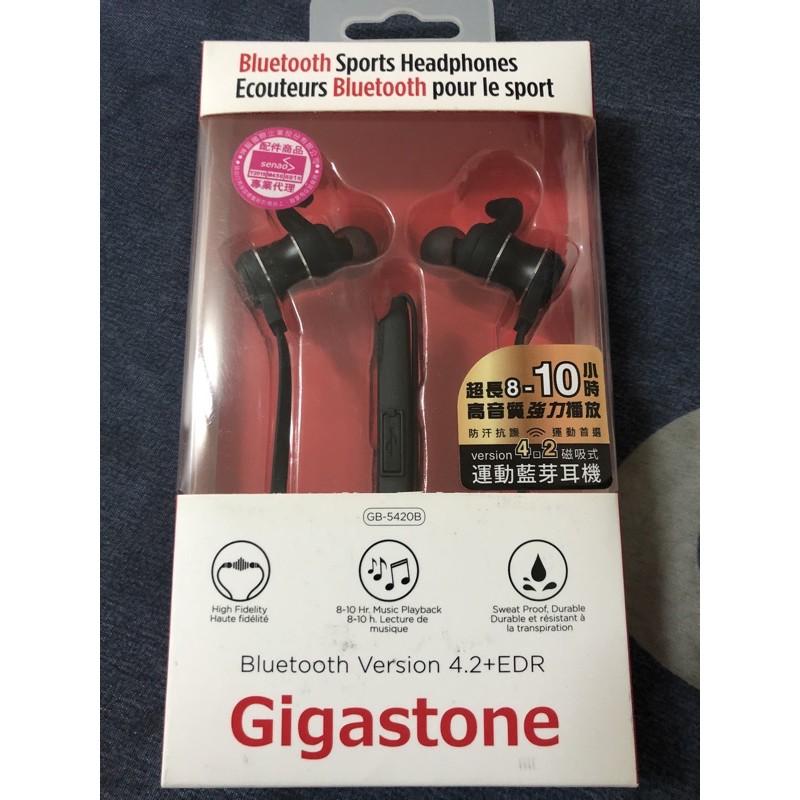 Gigastone GB-5421B 磁吸式運動藍牙耳機 藍牙V4.2 A2DP立體聲