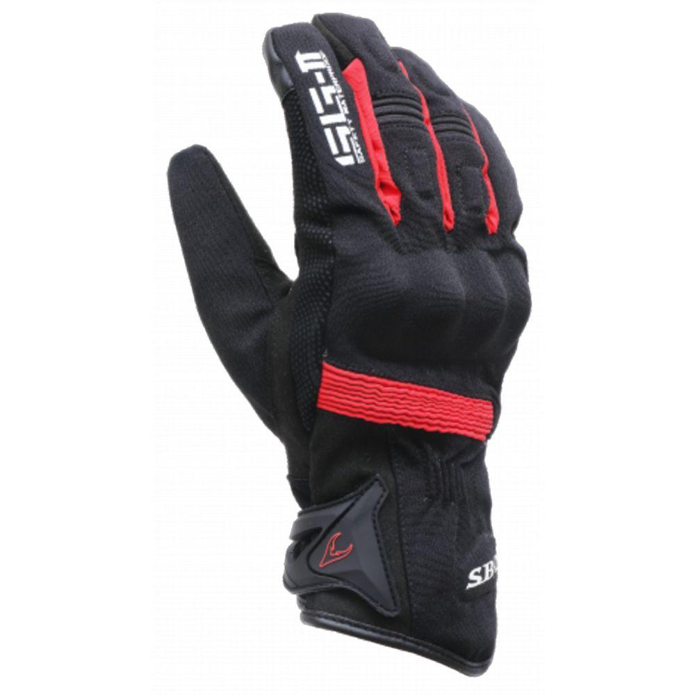 SBK SG-2 SG2 黑紅 防摔手套 防水手套 防寒手套 觸碰 手機 碳纖維護具 耐磨 止滑《淘帽屋 》