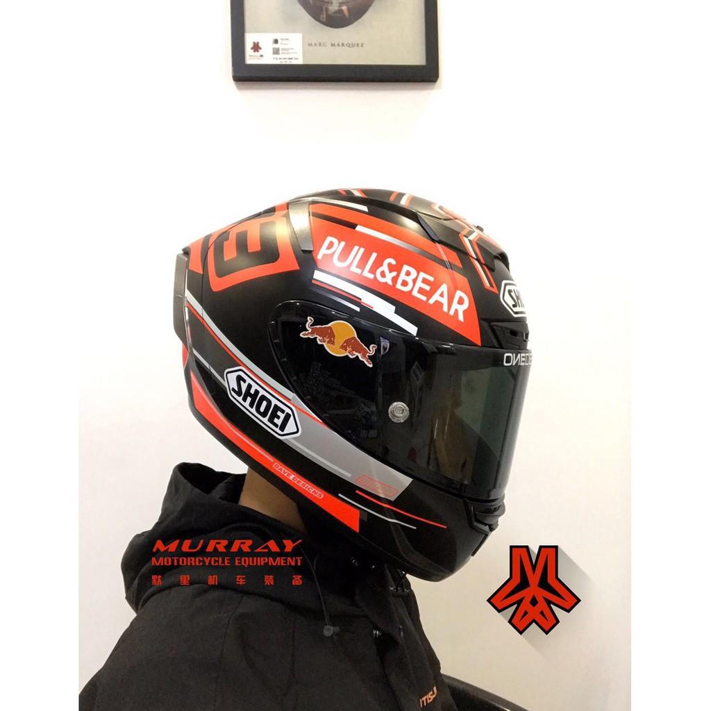 shoei頭盔x14黑螞蟻全盔休一黑紅螞蟻頭盔x14啞光全盔93號馬奎斯螞蟻頭盔