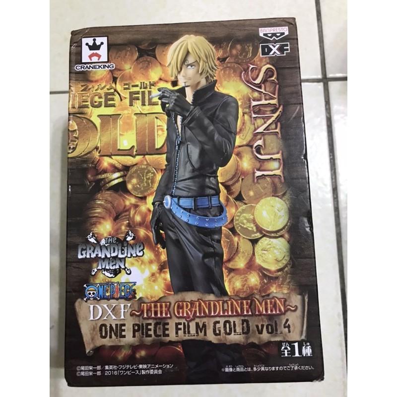 日版金證 海賊王 香吉士 DXF FILM GOLD Vol.4 劇場版 黃金城