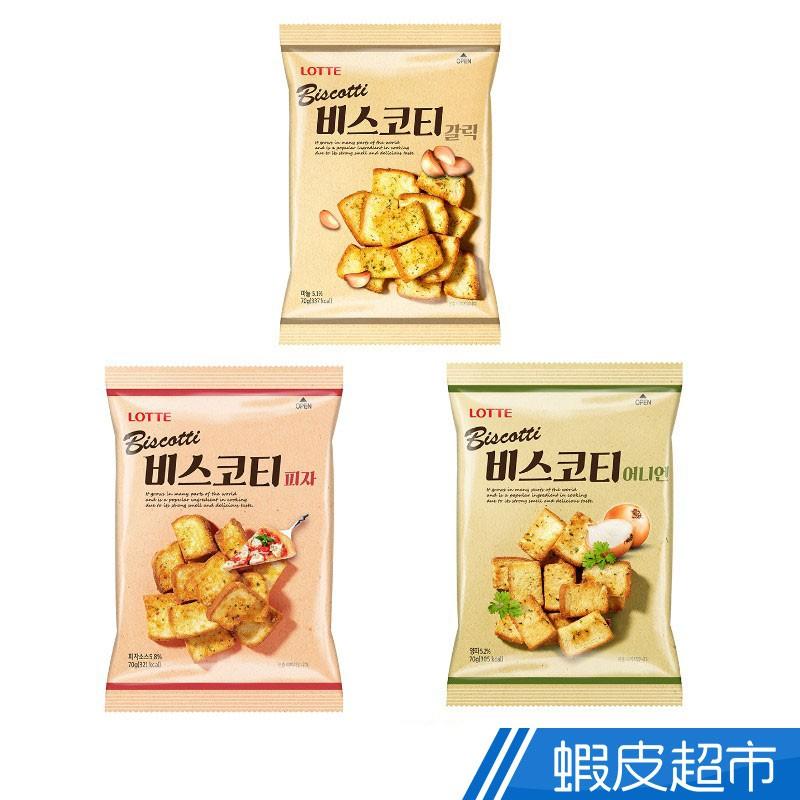 韓國 樂天 大蒜/洋蔥/披薩口味 麵包餅 韓國人氣商品 酥脆口感  現貨 蝦皮直送