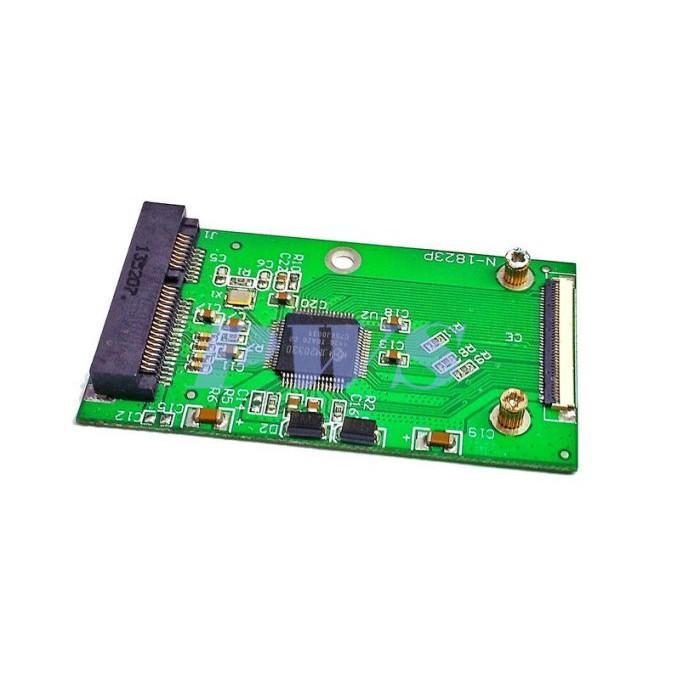 ☆【 全新 Msata 轉 IDE 轉板 轉 ZIF 1.8吋硬碟轉接盒 】☆m-SATA TO 1.8吋 ZIF 硬碟