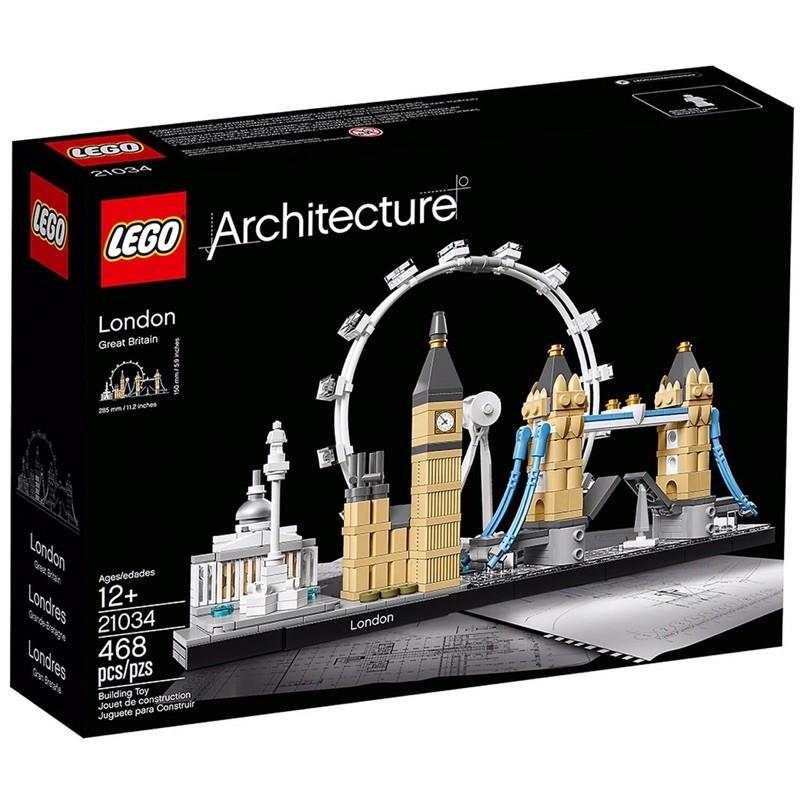 樂高 21034 建築系列 英國 倫敦 地標 台北市可面交 LEGO London architecture 積木 禮物