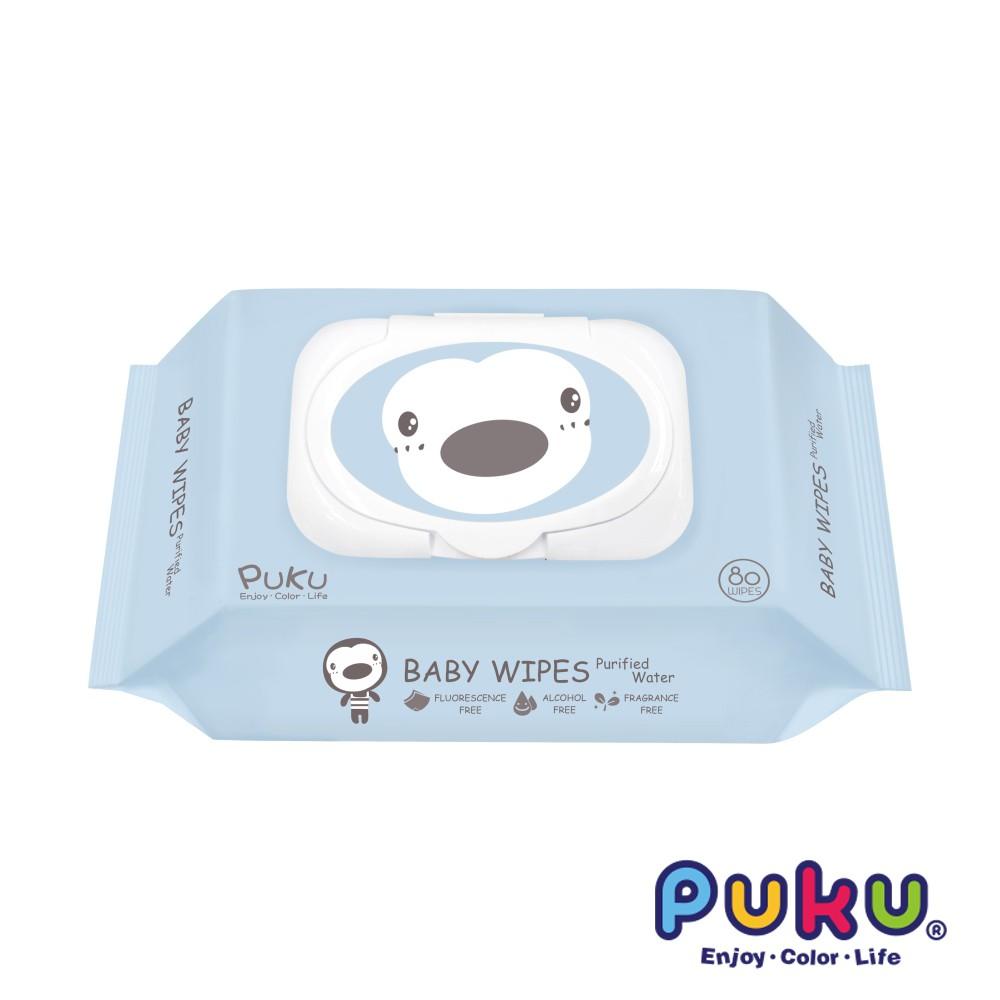 PUKU 80抽加厚型嬰兒濕紙巾(P17818)