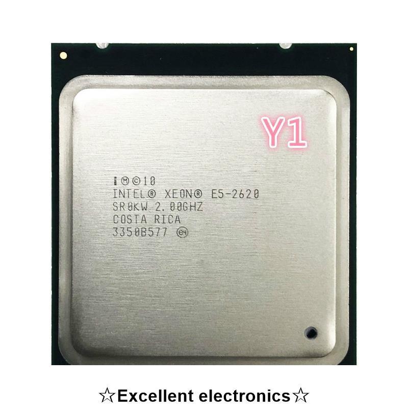 英特爾 Xeon E5-2620 E5 2620 2.0 Ghz 六核十二線 Cpu 處理器 15m 95w Lga 2