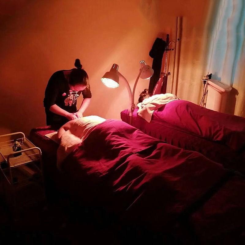 【理療燈】遠紅外線理療燈烤電理療家用儀神燈烤燈美容院紅外線加熱取暖燈泡