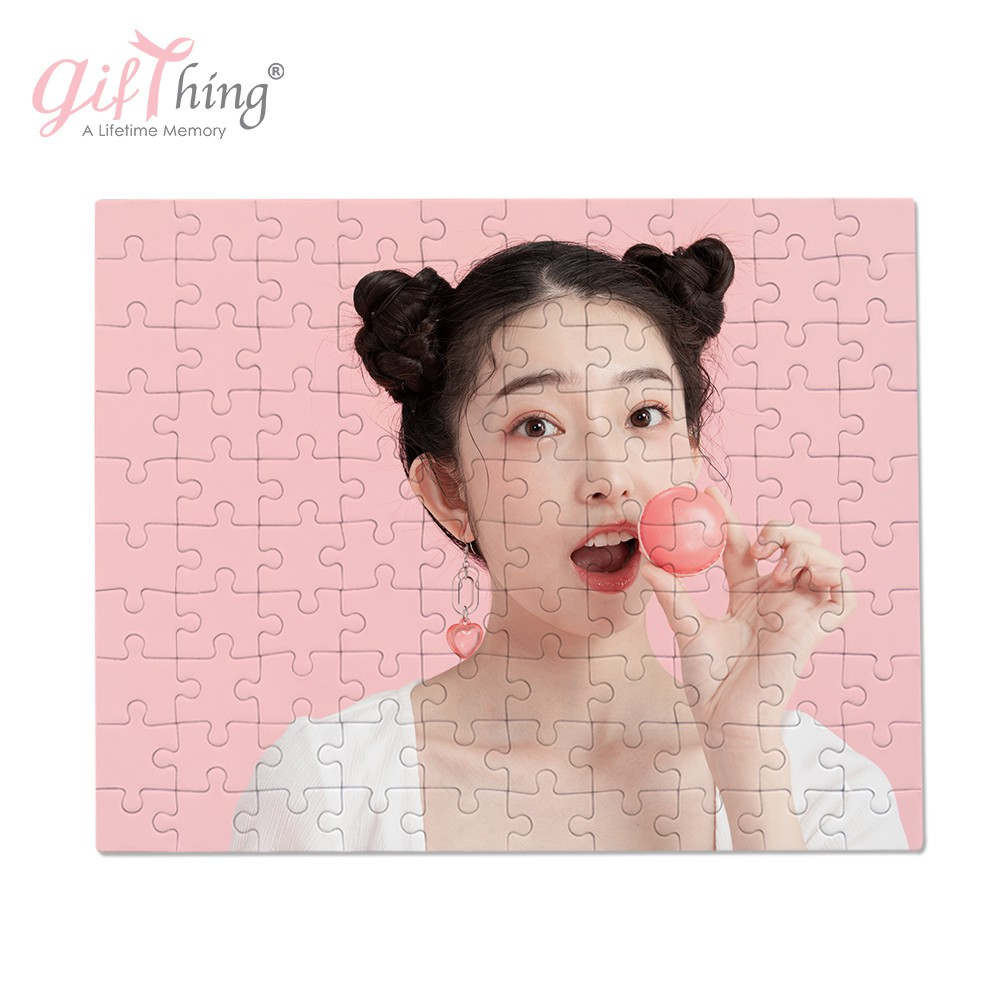 Gifthing 客製化拼圖 A4 送拼圖盒 片數12 30 100片可選 來圖客製 打散發出 免運