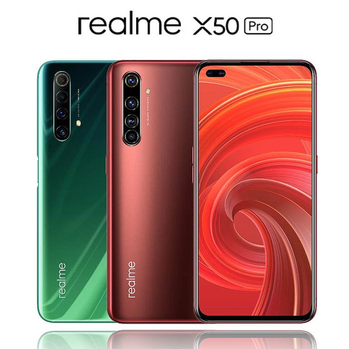 realme X50 Pro 12GB/256GB 綠/紅 最高 65W SuperDart 快充 5G [台灣公司貨]