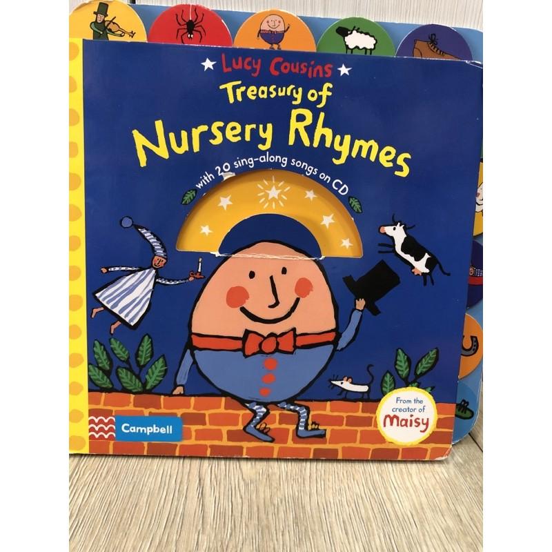 二手書籍-Lucy Cousins Treasury of Nursery Rhymes|英語早教
