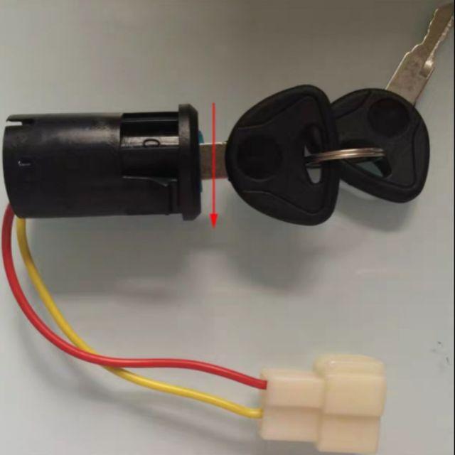 兒童電動車 改裝 配件 排檔桿 鑰匙開關 驅動線 公母插頭 童車配件 童車馬達配件