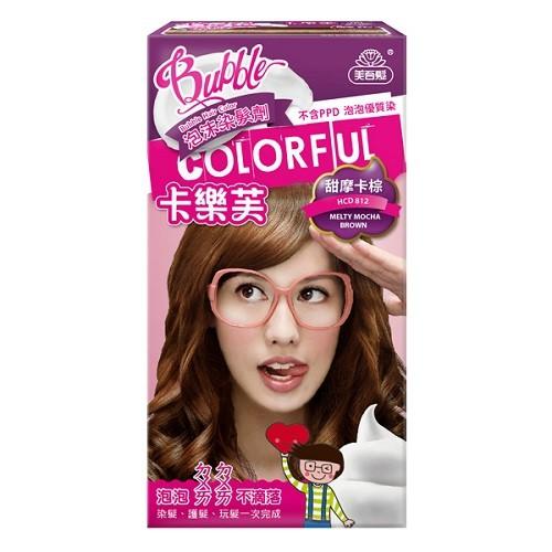 卡樂芙泡沫染髮劑 甜摩卡棕  【大潤發】