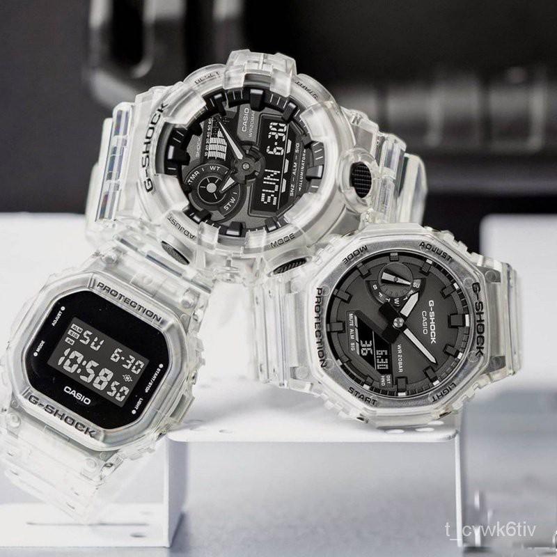 卡西歐農家橡樹冰韌透明手錶GA-2100SKE-7A GA-700 900 DW5600SKE PqEt