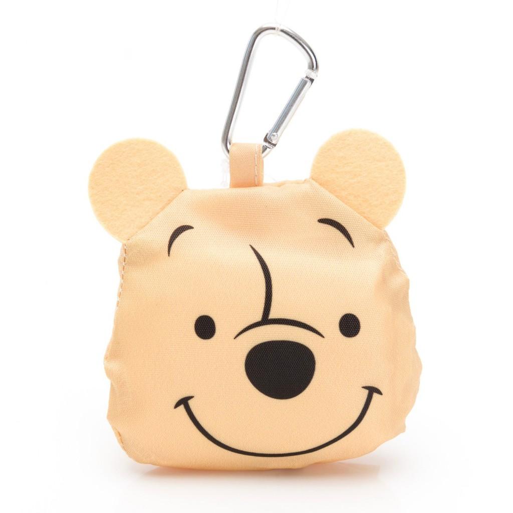 大頭收納 掛勾式環保購物袋 維尼 熊抱哥 三眼怪 玩具總動員 愛護地球 【hello_japan】