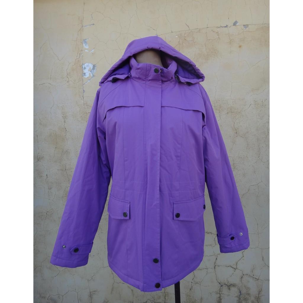 正品 OTTO 紫色 鋪棉 防風外套 size: L