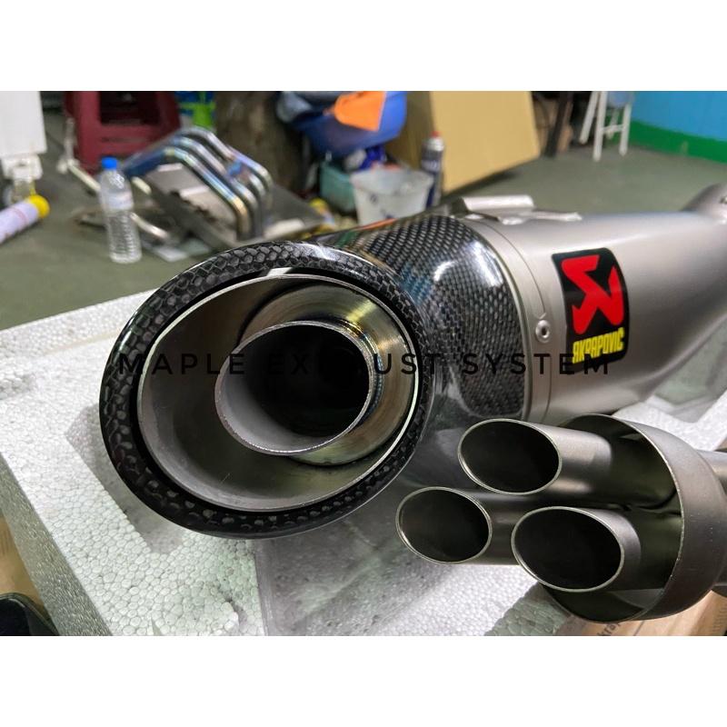 Maple排氣系統 XSR900/MT09 CSR700/MT07 CB650系列 蠍子管專用單孔消音塞 全手工製作