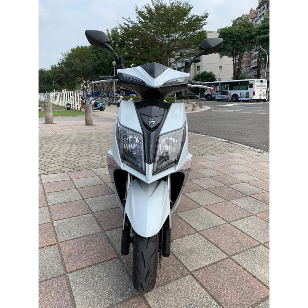 【高雄二手機車】2017年 三陽-JET S 125-白黑 可分期 #2966 #台南二手重機、機車、gogoro買賣
