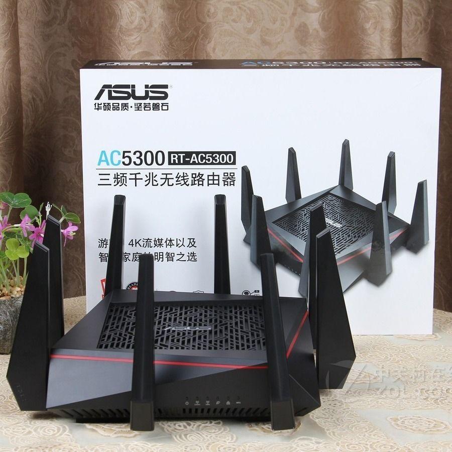 【現貨-免運】 華碩無線路由器   網路分享器  無線分享器  無線增強器 辦公家用華碩RT/GT-AC5300 ROG