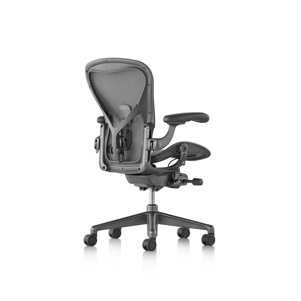 全網最低價!美製碳灰色鋼製版!全功能最高配置全新正品Herman Miller New Aeron 2.0人體工學椅