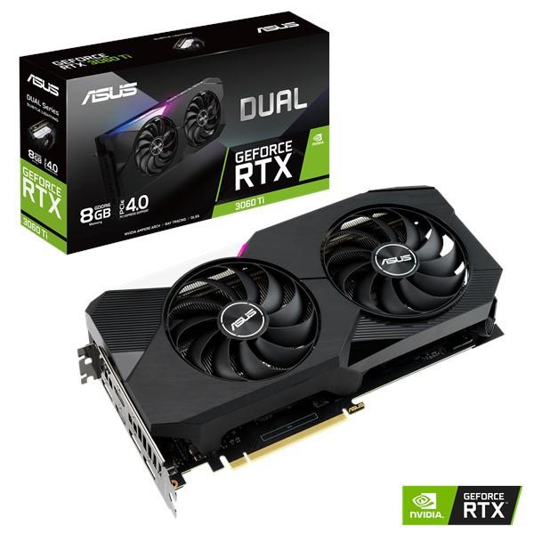 ASUS Dual GeForce RTX™ 3060 Ti 8GB GDDR6