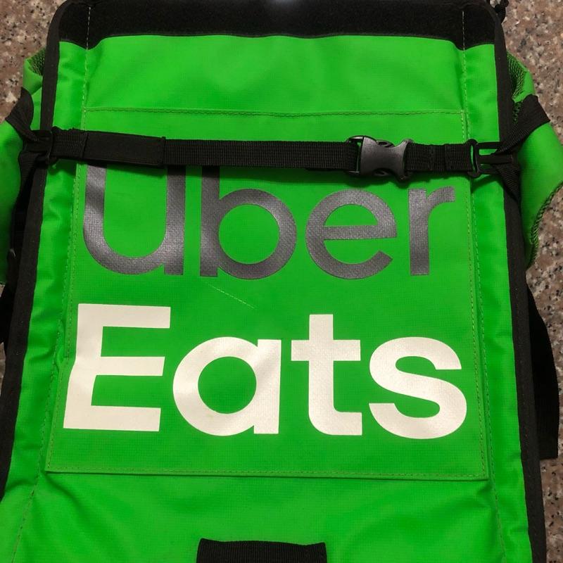 UberEats 三代 郵筒包 綠包 官方保溫袋 Uber Eat 三代大包 保溫包 Uber Eats