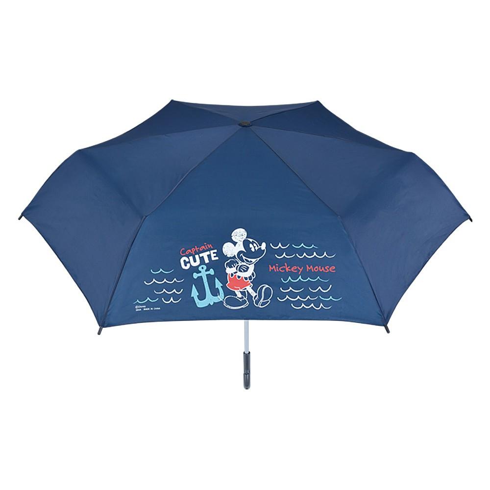 SEGA 日版 Disney迪士尼 景品 米老鼠 米奇 摺疊傘(海軍藍)【酷比樂】