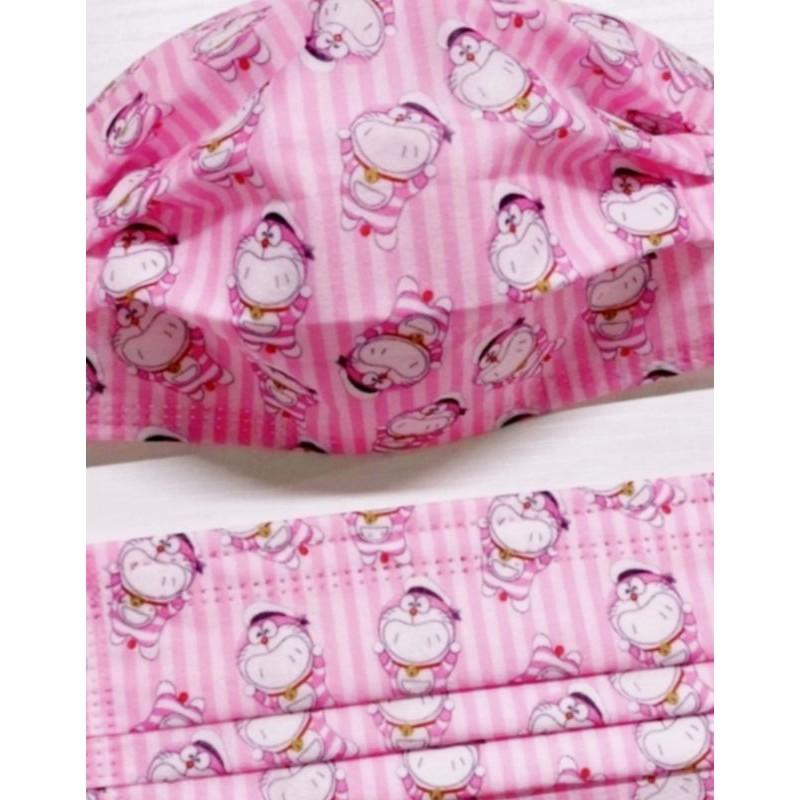 🔥現貨 熱賣🔥[哆啦A夢 口罩]小叮噹 (粉紅睡衣) 卡通口罩 (非醫用) 成人款