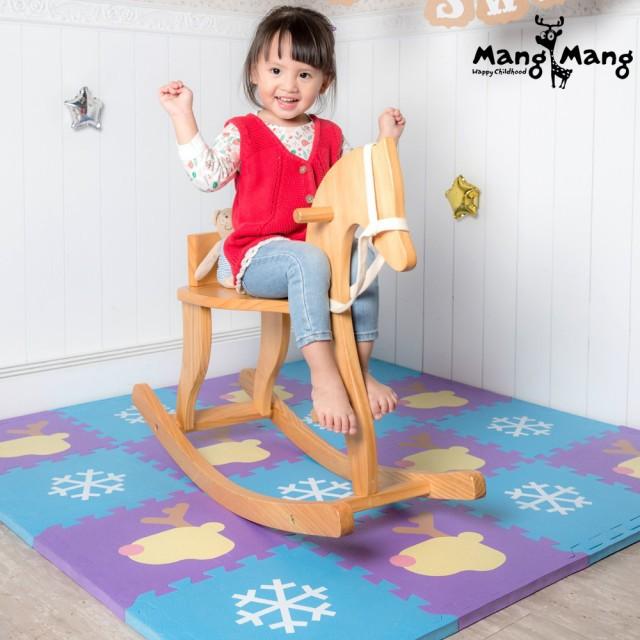 免運【Mang Mang 小鹿蔓蔓】寶貝安全防護地墊-雪片小鹿