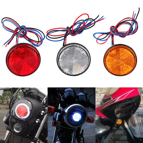 【1個】12V 高亮度 LED圓形尾燈 後燈 倒車燈 剎車燈 方向燈 小燈 邊燈 側燈 貨車 卡車 摩托車通用