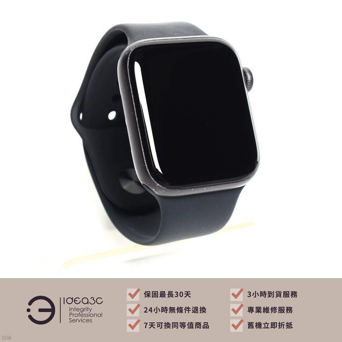 「標價再打97折」Apple Watch S5 44mm GPS版【店保1個月】MWVF2TA 黑色運動錶帶 CG682