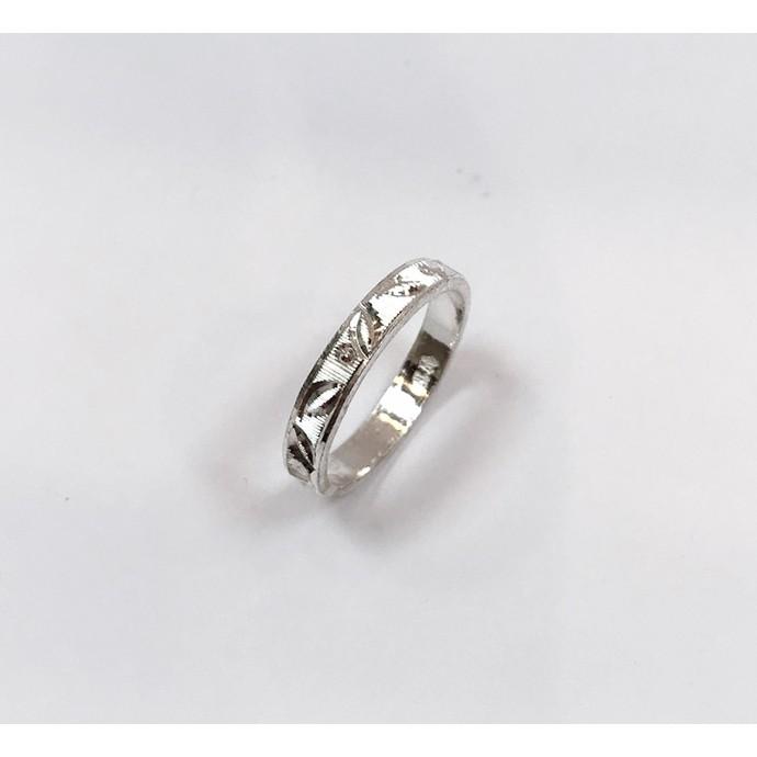 白銀造型戒指【戒圍#12】–「金勝銀樓」廣東門市