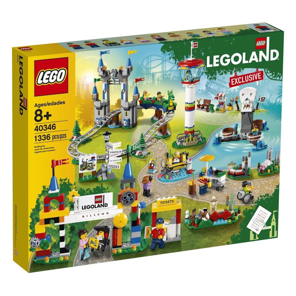 讓這座迷你樂高樂園在家裡開幕吧~! LEGO 40346【樂高樂園 丹麥比隆】LEGOLAND Billund 曝光