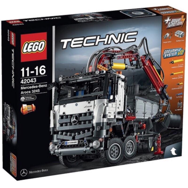 LEGO 42043 TECHNIC 賓士卡車