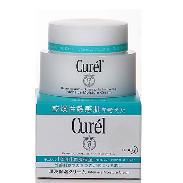 花王 Curel 乾燥性敏感肌系列 潤浸保濕深層乳霜40g【小三美日】D236210