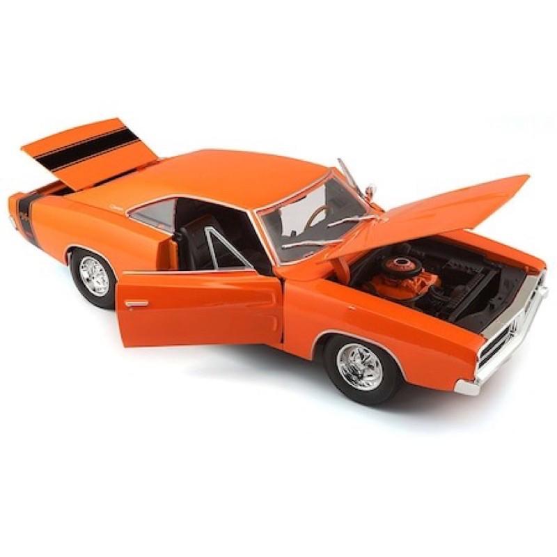 現貨 Maisto 1/18 1969 Dodge Charger R/T 道奇 RT 玩命關頭 模型車 美式 1:18