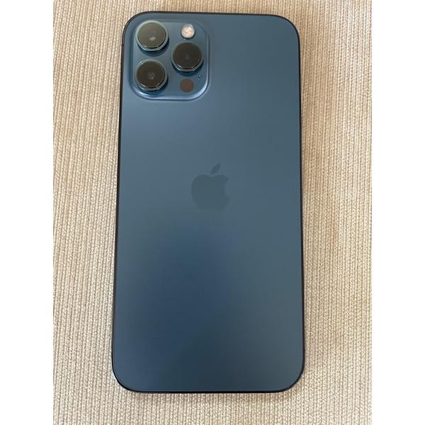 iPhone 12 pro max 256g 太平洋藍 保固內 二手
