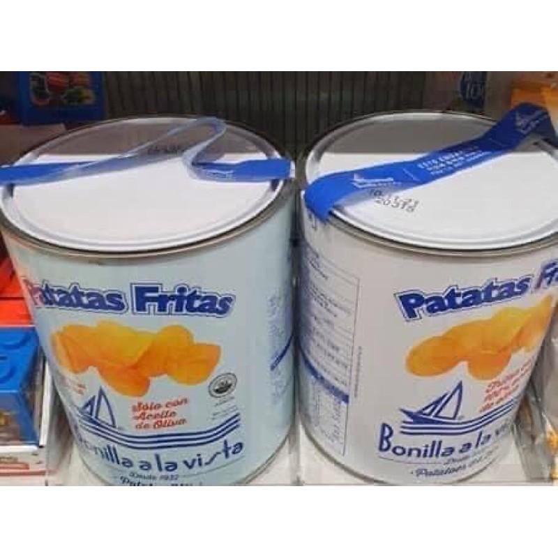 《現貨》🇰🇷韓國Bonilla a la Vista油漆桶洋芋片275/500g