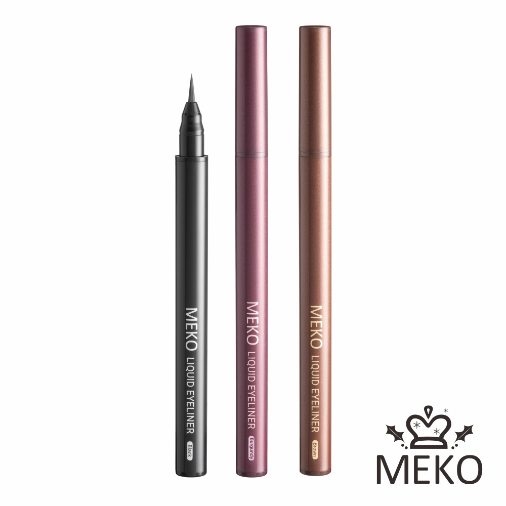 【MEKO】絕色媚眼防水眼線液筆(3色任選) 0.7g