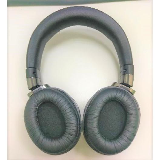 [ 實裝圖 ] 通用型耳機套 替換耳罩 橢圓形 可用於 Panasonic RP-HD10 有點緊不好裝