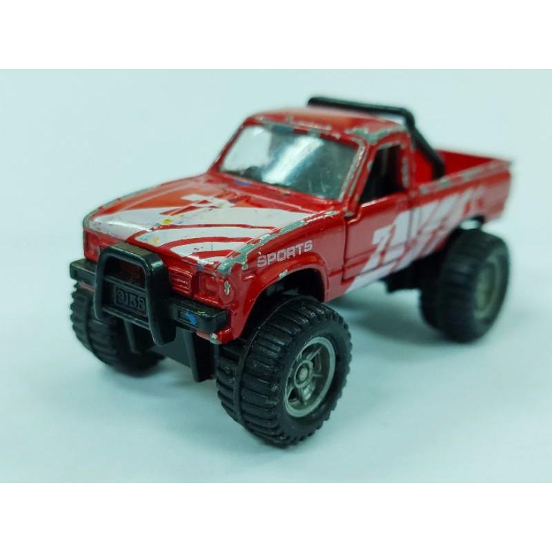 日本製 紅標 TOMICA TOMY No.62 (No.3) Toyota Hilux 大腳車