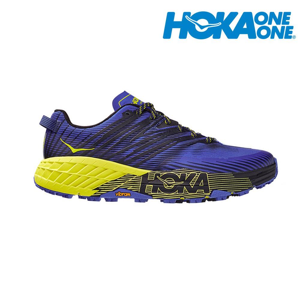 HOKA  SPEEDGOAT 4 Wide 2E寬楦 男越野鞋 登山鞋 1106528BIEP 贈腿套 21SS
