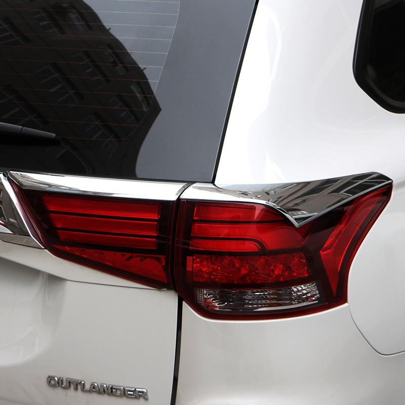 Mitsubishi~適用于2020款 Outlander 尾燈眉亮條16-19款Outlander 改裝專用后飾條